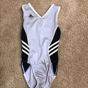 Adidas gymnastics leotard child large CL